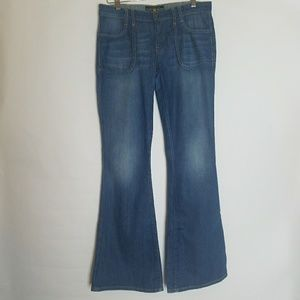 Lucky Brand Charlie Flare Abbey Trouser Jeans 10